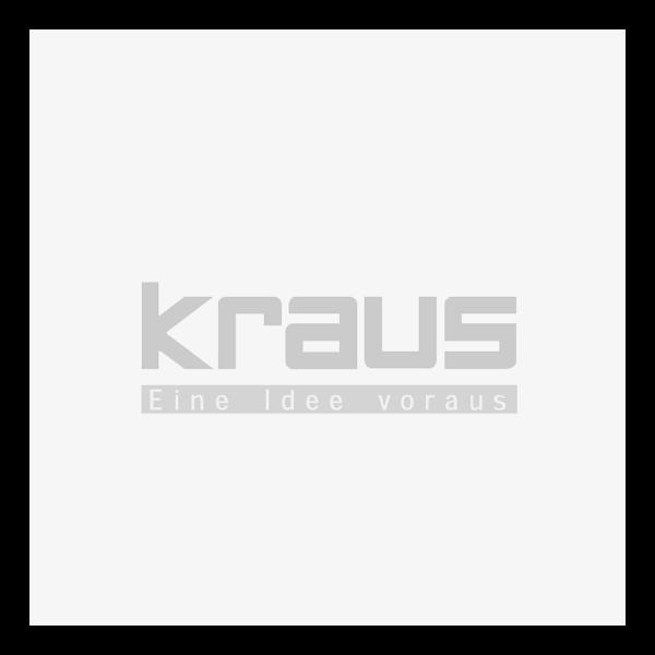 Vollgummi-Lenkrolle mit Rückenloch Ø 125 x 37.5 Modell KBS spurlos